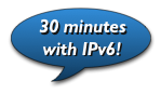 Spend 30 minutes with IPv6 every Friday!